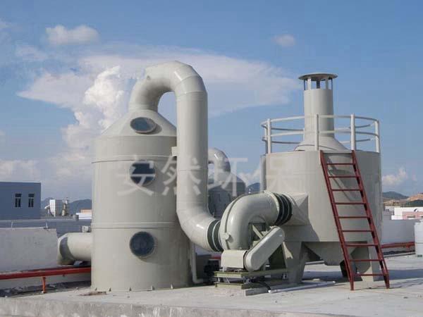 PP阻燃洗涤塔,阻燃废气塔,废气尾气吸收塔
